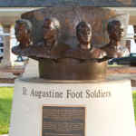 Image of the St. Augustine Foot Soldiers sculpture