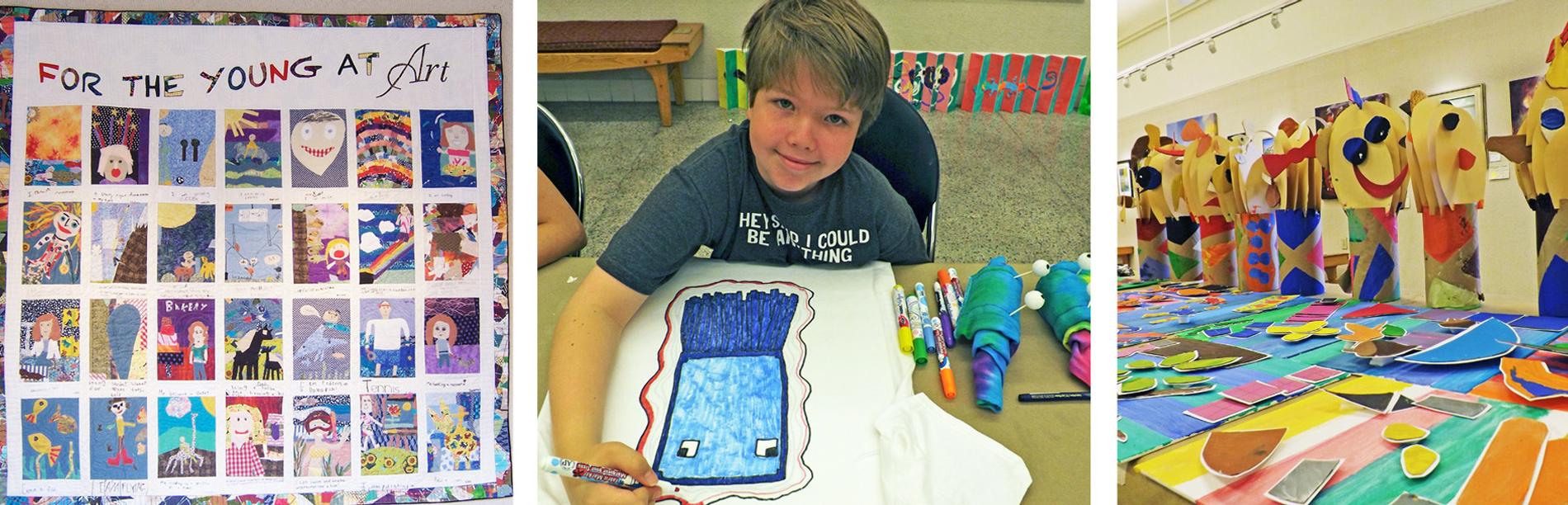 How children learn through art